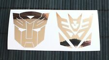 adesivo TRANSFORMERS Deception (kit 2 adesivi) vinile sticker decal vinyl film