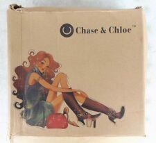 CHASE & CHLOE - CAMOUFLAGE AND STUDS - PLATFORM/HEELS - STILETTOS - SIZE 8