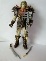 "The Hobbit Unexpected Journey Bolg Orc 5"" Action Figure LOTR 2012 + Accessories"