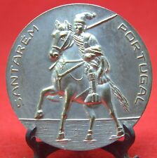 AGRICULTURE FAIR / HORSE / CAMPINO ON THE HORSES / BRONZE MEDAL Silver plated