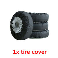 """1* Universal 13""""-19"""" Tote Spare Tire Tyre Storage Cover Practical Car Wheel Bag"""