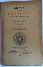 BARONNIE DE LANVAUX  Genealogie GAUTREAU REVUE OUEST VANNES Bretagne 1896