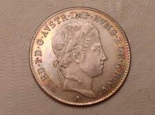 -  Austria 1848 A Ferdinand I Five 5 Kreuzers  AU / Unc