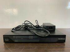 Cisco 892FSP C892FSP-K9 Integrated Services Router w/ Power Adapter