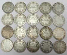 20x 1919 Canada 50 cents VG and Fine