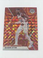 2019-20 Prizm Mosaic De'Andre Ayton #138 Orange Reactive Prizm SP Phoenix Suns