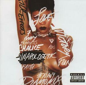 RIHANNA - UNAPOLOGETIC - EMINEM DAVID GUETTA - NEW CD!!