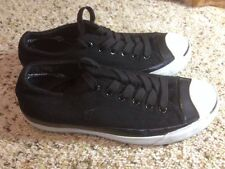 Converse Jack Purcell black Mens 5  WOMENS 6.5 Woolrich wool sneakers Shoes KED