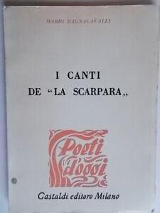 I canti de La scarparabagnacavalli mariogastaldi1960 poesie ancona marche