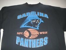 Vtg 1996 Carolina Panthers NFL Sweatshirt Medium **RARE**