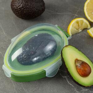 Kitchen Food Storage Box Avocado Space Saving Container Vegetable Organizer: