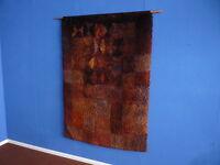 Wand Teppich Rug von Ritva Puotila Finland Signiert Handgeknüpft Wolle 1975