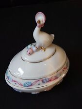 Lenox 2003 Springtime Goose Easter Egg 10th Anniversary Limited Edition
