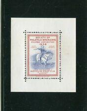 Philatelic Label Stamp Society Of Philatelic Americans Chicago Convention 1938
