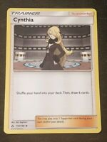 Cynthia Pokemon Card - 119/156 Ultra Prism Trainer - Near Mint