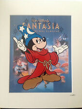 Disney - Mickey Mouse - The Sorcerer's Apprentice - Hand Drawn/Hand Painted Cel
