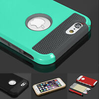 """Hybrid Hard&Soft Shockproof Rugged Cover Case For Apple iPhone 6 6s 4.7"""" 5.5"""