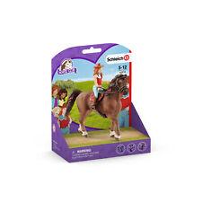42514 Schleich Horse Club Hannah & Cayenne Horse & Rider Set Plastic Figures