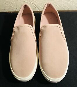 NEW Women's UGG Slip On Shoes Size 10M Tan Suede