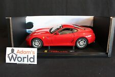 Hot Wheels Elite Ferrari 599 GTB Fiorano 1:18 red (PJBB)