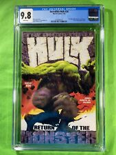 Incredible Hulk (2000) #34 CGC 9.8 NM/M White Pages Steranko Cover Homage
