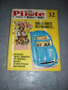 Recueil journal Pilote (album du journal) numéro 32