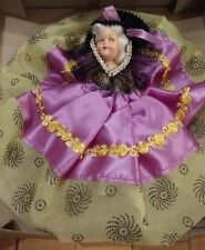 """1950s 7"""" Vintage Doll - #504 """"Venetian Lady"""" - moveable head, eyes, arms"""