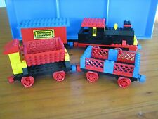 Vintage Lego 181 Train Set With Crossovers Junctions & Extra Track 1970's