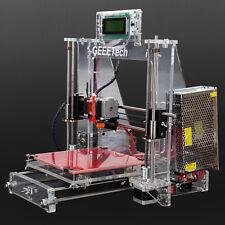 Geeeetech STAMPANTE 3D PRINTER PRUSA I3 Acrilico Telaio in acciaio MK8 Extruder