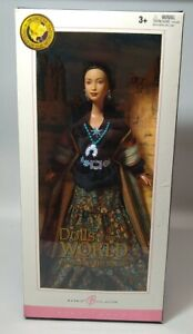 Dolls of the World Princess of the Navajo 2004 Mattel Barbie Pink Label Open Box