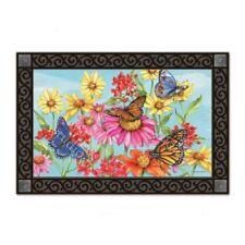 MatMates Field of Butterflies Doormat