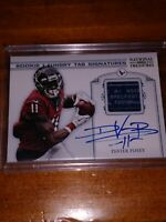 LAUNDRY TAG DeVIER POSEY 2012 NATIONAL TREASURES  ROOKIE AUTO 10/10. TEXANS RPA