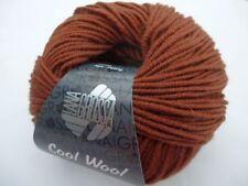 Cool Wool Merino superfein Lana Grossa Fb 2016 mittelbraun