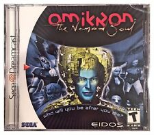 Omikron: The Nomad Soul (Dreamcast, 2000) Brand New Sealed -Free U.S. Ship -Nice