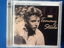 TOMMY. STEELE.       ROCK WITH THE CAVEMAN.         TWO DISCS.