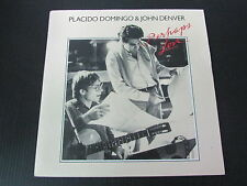 "PLACIDO DOMINGO & JOHN DENVER   SP 45T 7""   PERHAPS LOVE   1981"