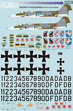 Decals 1:32 F-104G Jabo 31/32/36