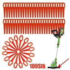 ART 23 gemischt 100x Ersatzmesser Kunstoff für Bosch Rasentrimmer ART 23 LI
