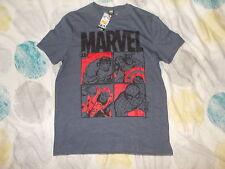 T Shirt Marvel Avengers Blue Large L