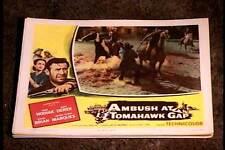 AMBUSH AT TOMAHAWK GAP 1953 LOBBY CARD #2 NATIVE AMERICAN INDIAN WESTERN