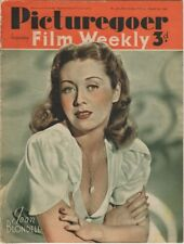 Picturegoer Film Weekly August 24, 1940 Joan Blondell  Cover  Shirley Temple