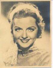 NANCY CARROLL Beautiful Original Vintage 1920s Silent Starlet DBW Portrait Photo