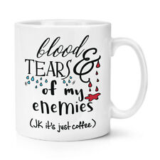 Sang Et Tears Of Mon Ennemies Café 284ml Tasse - Plaisanterie Amusante