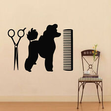 Pets Wall Decals Dog Grooming Salon Decal Vinyl Sticker Puppy Pet Shop Z805