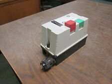 GE Enclosure Starter CL00A3310T / RT1K 25A 600V Trip: 2.5-4.1A Used