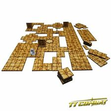 TTCombat (FSC010) Modular Dungeon Tiles Set A, great for Fantasy Gaming