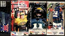 FOUR Different NASCAR Racing TICKETS from TEXAS MOTOR SPEEDWAY 1998-2000