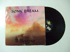 "Sonic Dream ‎– Il Sogno - Disco Mix 12"" 33 Giri Vinile ITALIA 1995 Progressive"