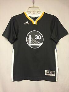 NBA Golden State Warriors Stephen Curry Adidas Alternate Youth Jersey Medium