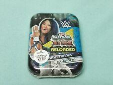 Topps WWE Slam Attax 2020 Reloaded Mini Tin Box Sasha Banks + Limited Edition